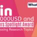 Frontiers Spotlight Award