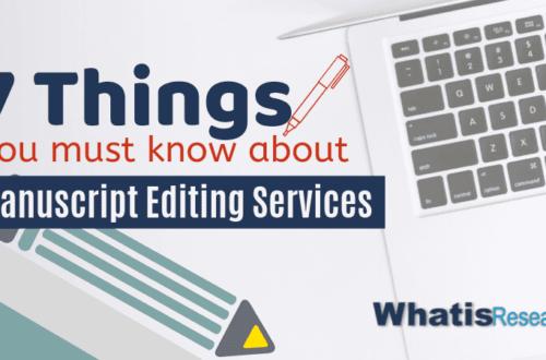 manuscript editing services