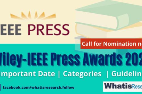 Wiley-IEEE Press Awards 2021